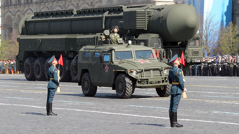 """""""Тополь-М"""", ракетный комплекс стратегического назначения"""