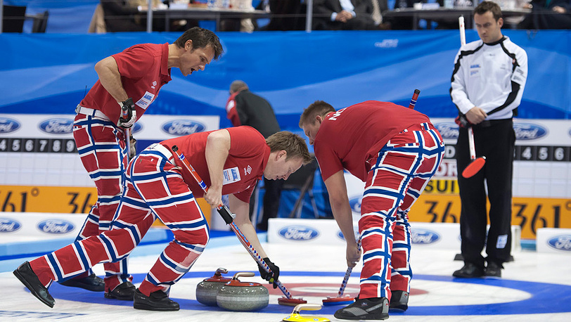 Игроки команды Норвегии
