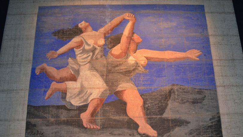 Занавес к «Голубому экспрессу» Александра Шервашидзе