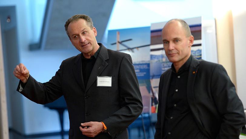 Андре Боршберг (слева) и Бертран Пиккар