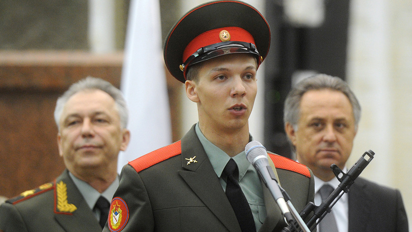 Фигурист Дмитрий Соловьев