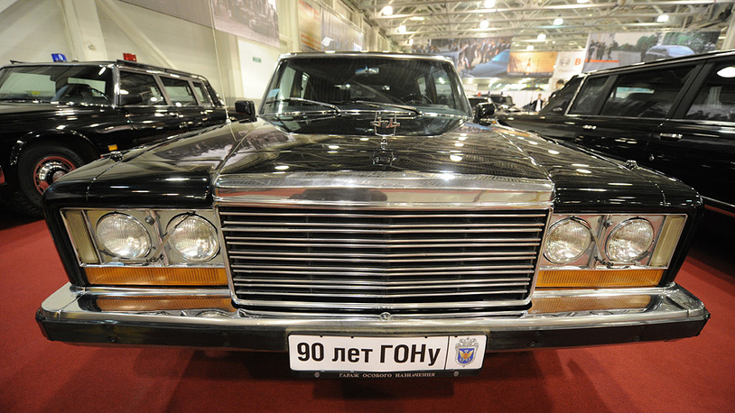 Автомобиль экс-президента СССР М.Горбачева ЗИЛ-41052. Фото ИТАР-ТАСС/ Артем Коротаев
