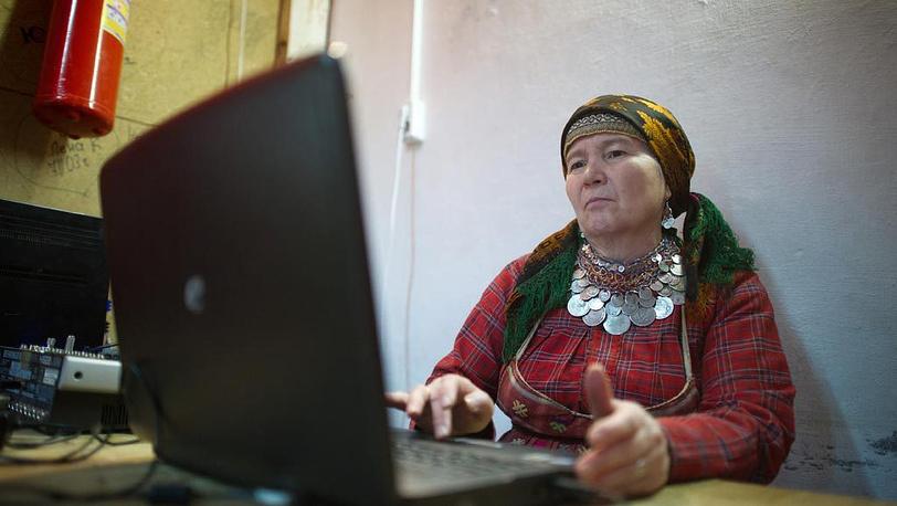 Алевтина Бегишева - уверенный интернет-пользователь
