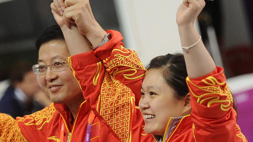 Китаянка Го Вэньцзюнь, занявшая первое место