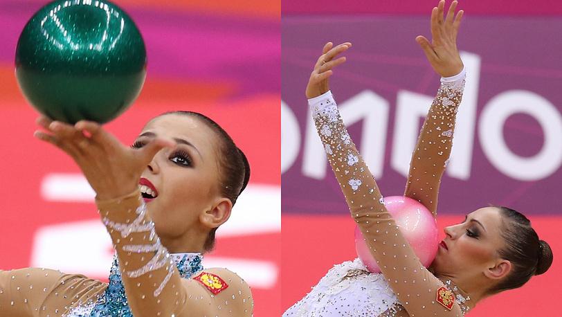 Д. Дмитриева (слева) и Е. Канаева