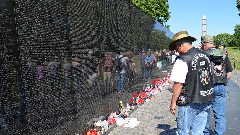 У Меморила погибшим во Вьетнаме