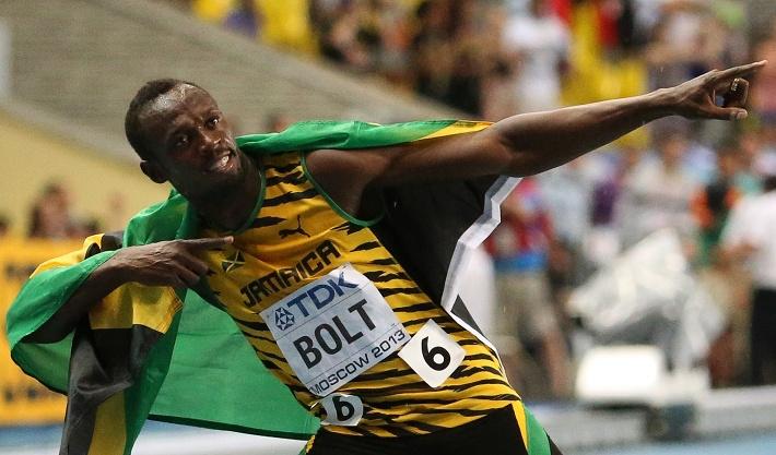 Усэйн Болт становится шестикратным чемпионом мира