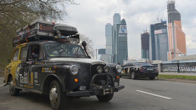 Кругосветный автопробег на лондонском кэбе