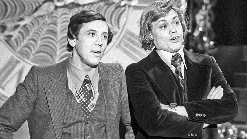 Валерий Золотухин и Николай Караченцов, 1978 год