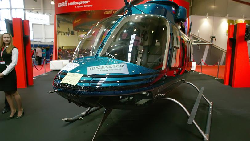 На выставке HeliRussia-2012 продаётся вертолёт