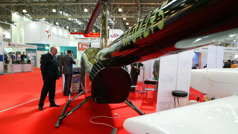 На выставке HeliRussia-2012