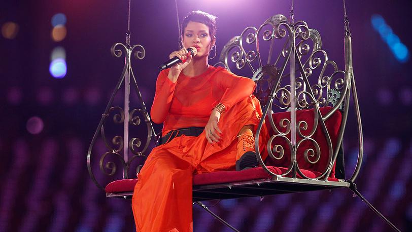 Певица Рианна