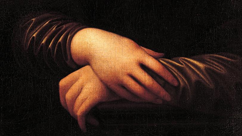 """Фрагмент второго варианта картины """"Мона Лиза"""". Фото: """"Фонд Моны Лизы"""""""