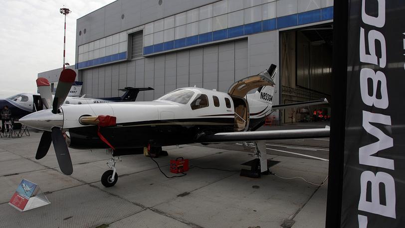 Одномоторный турбовинтовой самолет Daher-Socata TBM 850