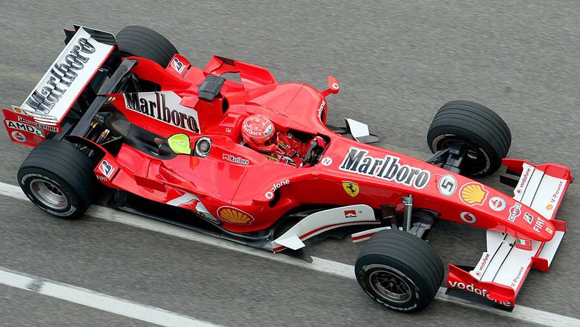 В команде Ferrari