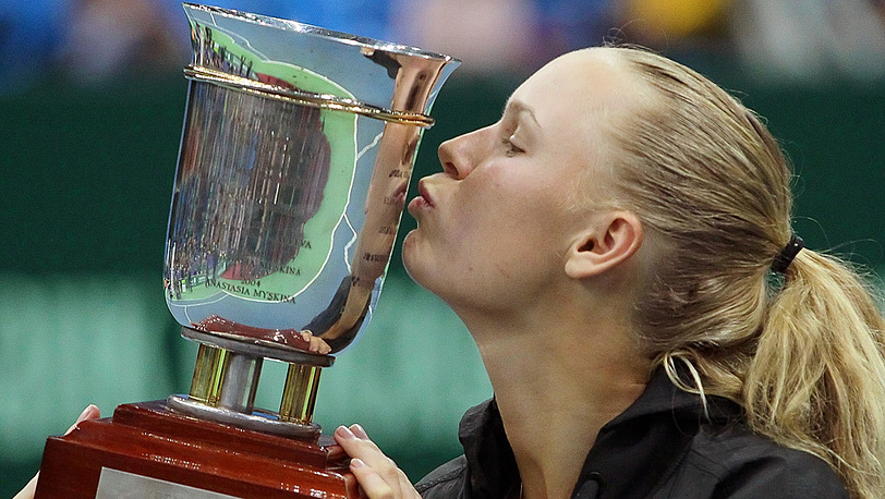 Каролин Возняцки одержала победу