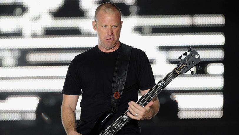 """Басист канадской рок-группы """"Nickelback"""" Майк Крюгер"""