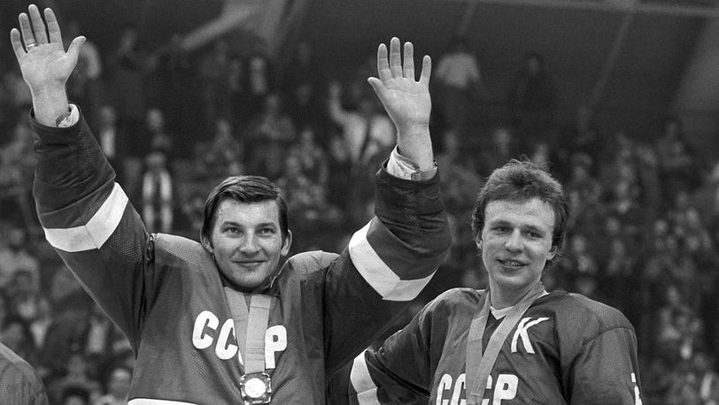 Владислав Третьяк и Вячеслав Фетисов, Олимпиада-1984