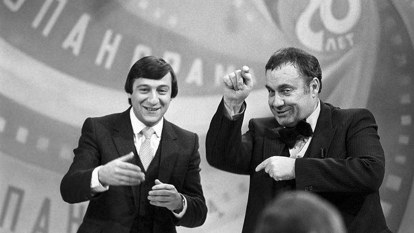 """Геннадий Хазанов и Эльдар Рязанов, """"Кинопанорама"""""""