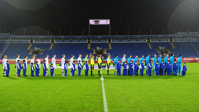 Команды на поле
