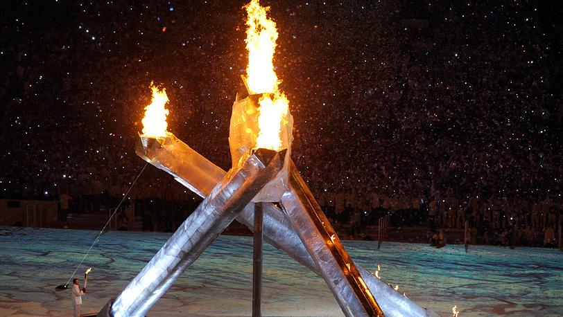 Чаши для Олимпийского огня представляют из себя сложные конструкции. Канада, 2010