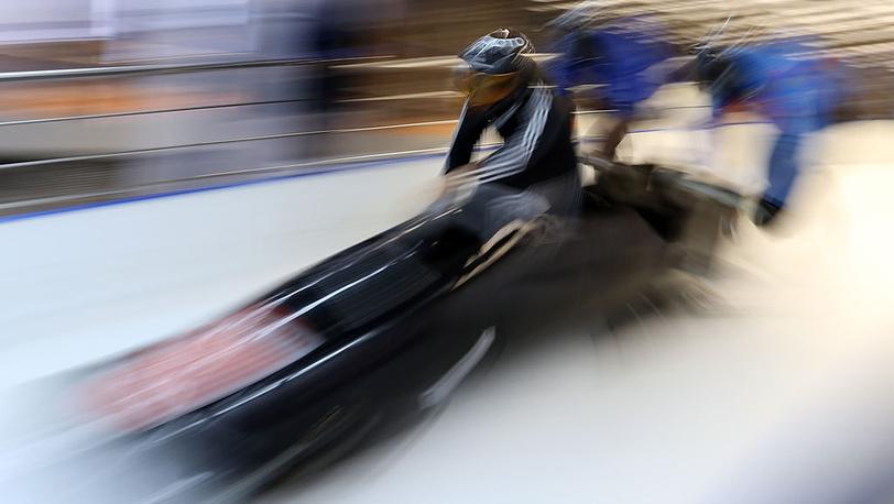 Во время открытой тренировки сборной России по бобслею. Фото ИТАР-ТАСС/ Артем Коротаев