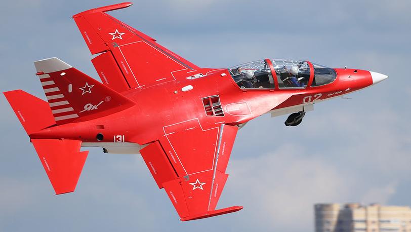Учебно-боевой самолет Як-130. Фото ИТАР-ТАСС/ Марина Лысцева