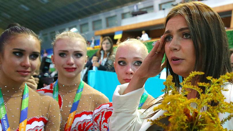 Алина Кабаева (справа). Фото ИТАР-ТАСС/Валерий Шарифулин