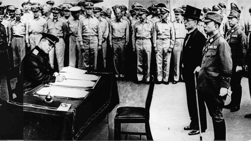 Подписание капитуляции Японии. 1945. Фото ИТАР-ТАСС