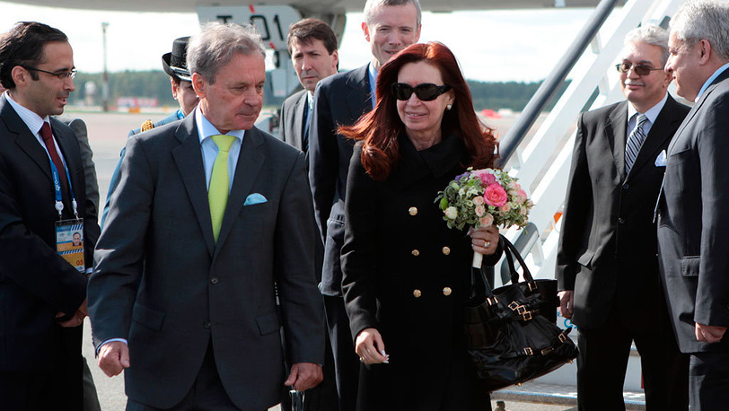 Президент Аргентины Кристина Фернандес. Фото EPA/IGOR RUSSAK / POOL
