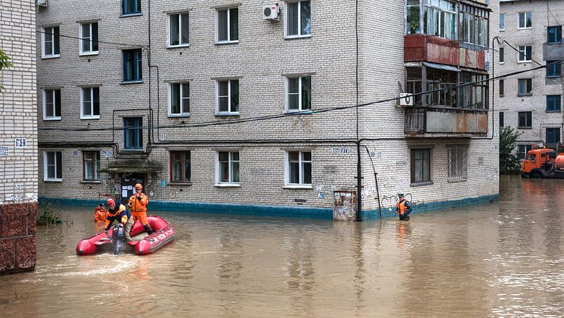 На одной из улиц города. Фото ИТАР-ТАСС/ Дмитрий Моргулис
