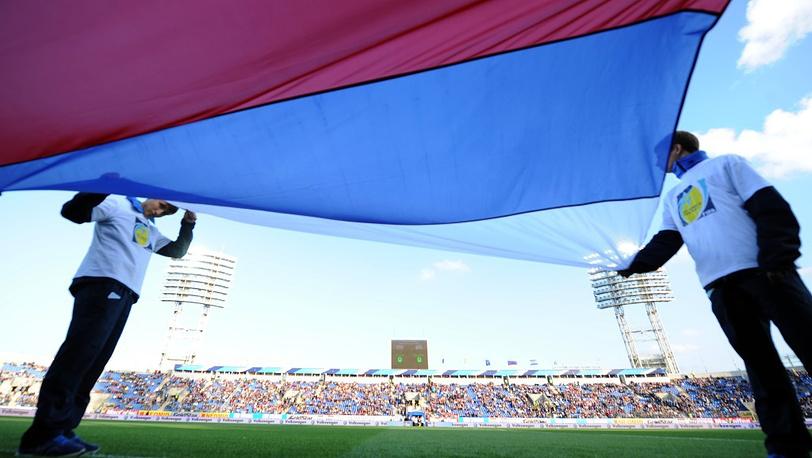 Перед матчем в Санкт-Петербурге