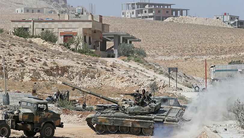 Вблизи города Маалюля к северо-востоку от Дамаска. Фото ИТАР-ТАСС/ Михаил Почуев