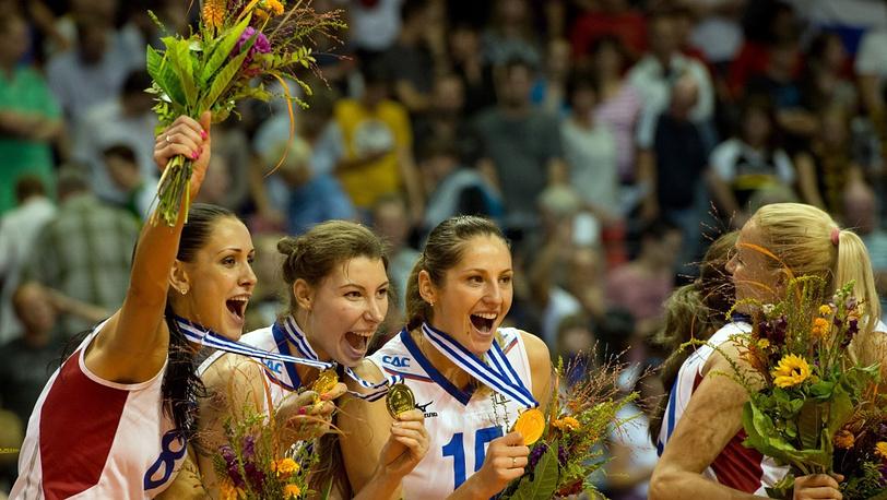 Российские волейболистки - лучшие на континенте!