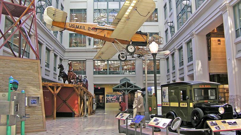 Экспозиция музея. Фото Smithsonian National Posta Museum