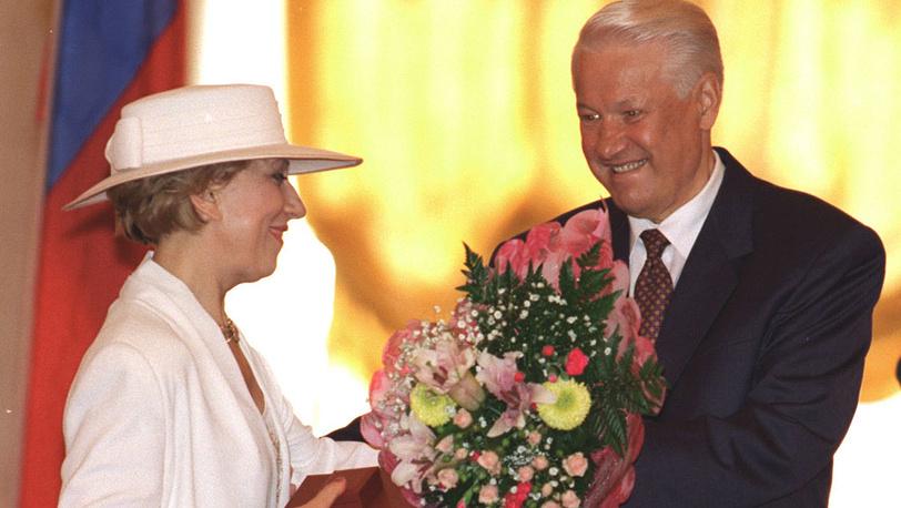И.Чурикова, Б.Ельцин. 1996 год. Фото А.Сенцов, А.Чумичев