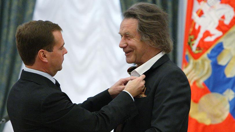 Д.Медведев и А.Шилов. 2010. Фото ИТАР-ТАСС/Михаил Климентьев
