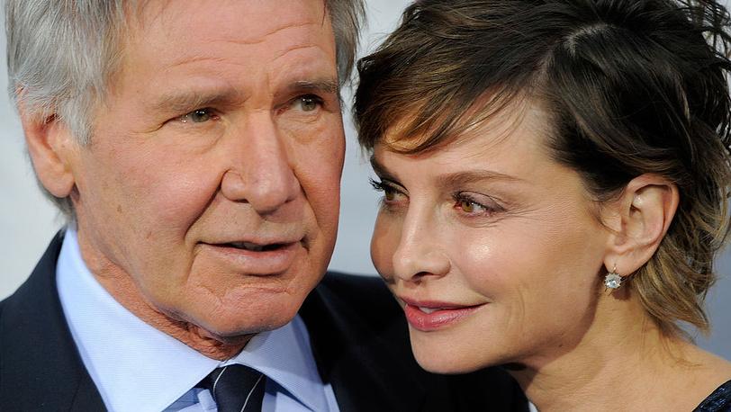 Харрисон Форд с женой Калистой Фокхарт. Фото AP/Chris Pizzello