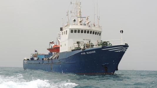 Корабль Myre Seadiver . Фото «Moran Security Group»