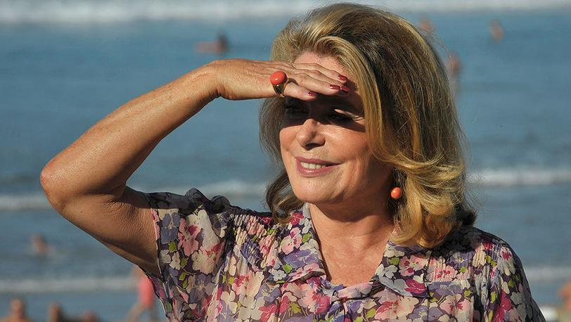Катрин Денев на кинофестивале в Сан-Себастьяне, 2011 г. Фото AP Photo/Alvaro Barrientos
