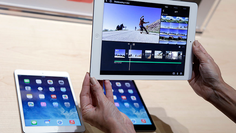 Презентация iPad Air в Сан-Франциско. Фото AP Photo/Marcio Jose Sanchez