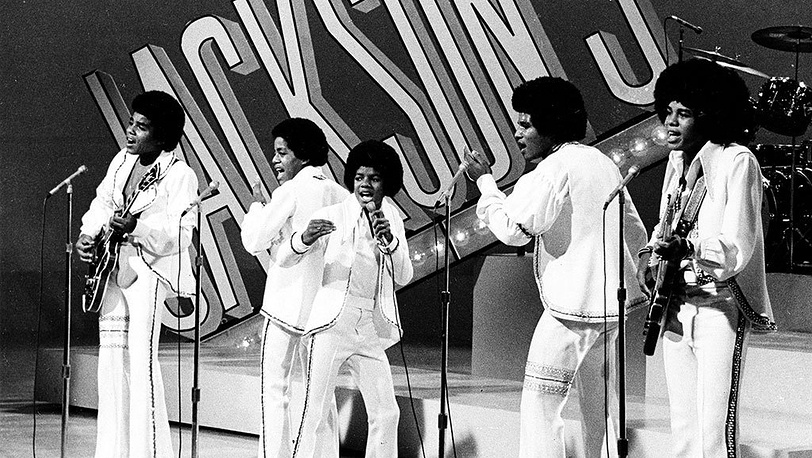 Выступление группы The Jackson 5, 1972 г.
