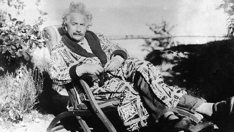 Альберт Эйнштейн, 1924 год. Фото AP Photo