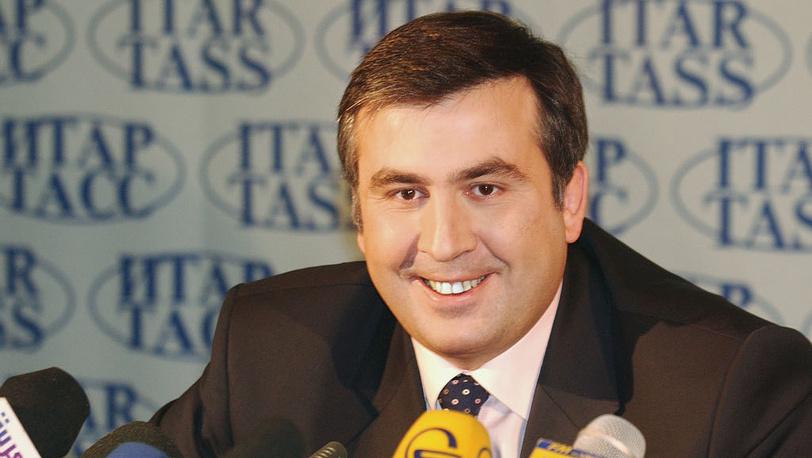 Президент Грузии Михаил Саакашвили. 2004 год. Фото ИТАР-ТАСС/ Виталий Белоусов