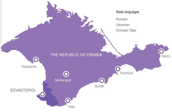 The Republic of Crimea and Sevastopol as constituent  entities in the Russian Federation