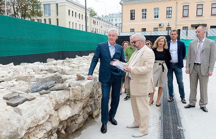 Moscow mayor vows to launch city's first open-air archaeology museum