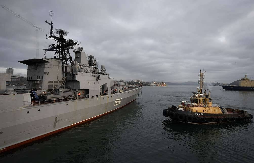 Russian Pacific Fleet's naval group pays visit to Philippines