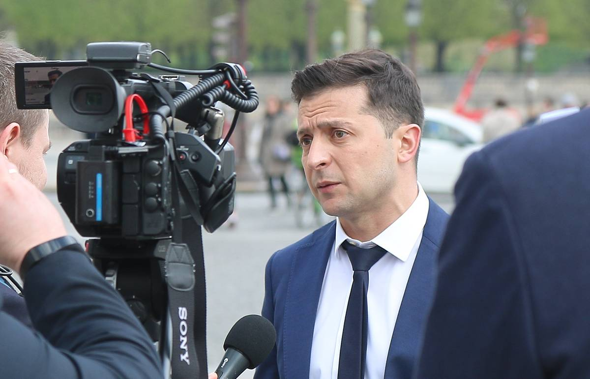 Zelensky's team doesn't consider lifting blockade on uncontrolled territories