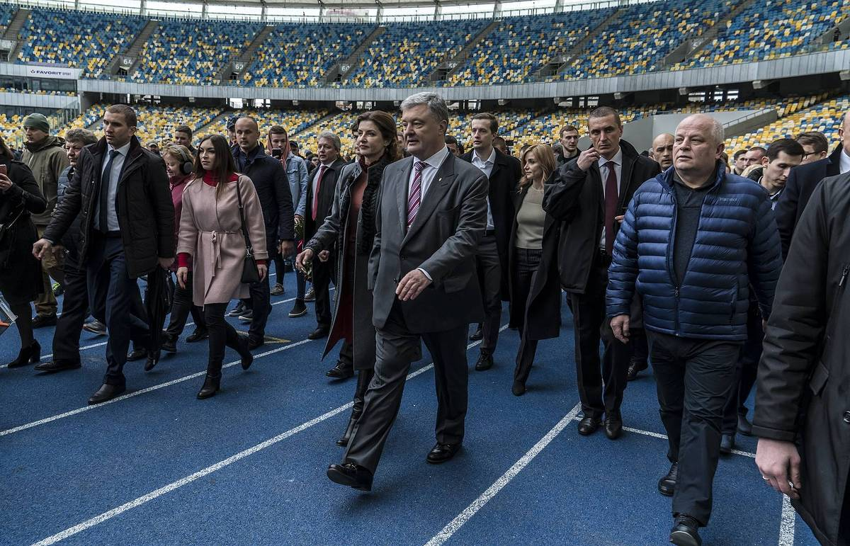 60,000 expected to turn up for the presidential debates in Kiev