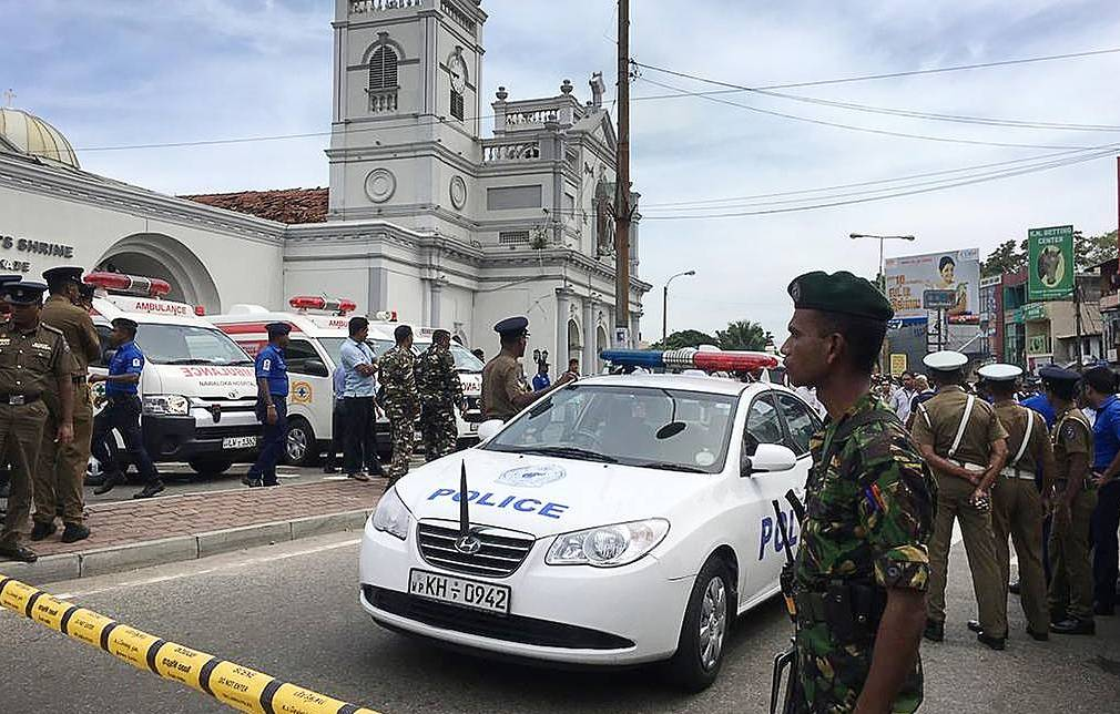 Death toll in Sri Lanka explosions soars to 160 — reports